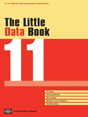 cover image of The Little Data Book 2011