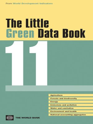 cover image of The Little Green Data Book 2011