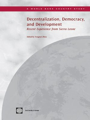 cover image of Decentralization, Democracy, and Development