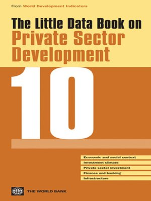 cover image of The Little Data Book on Private Sector Development 2010