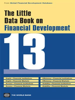 cover image of Little Data Book on Financial Development 2013