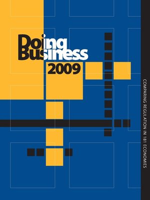 cover image of Doing Business 2009