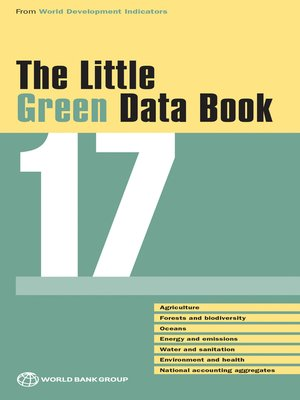 cover image of The Little Green Data Book 2017