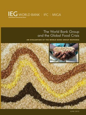 cover image of The World Bank Group and the Global Food Crisis