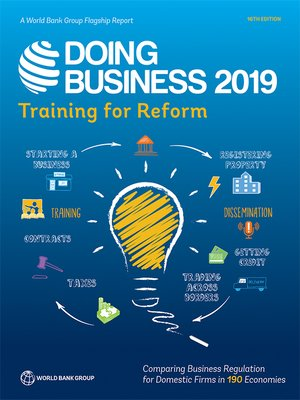 cover image of Doing Business 2019