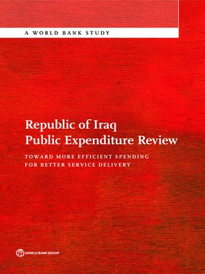 cover image of Republic of Iraq Public Expenditure Review