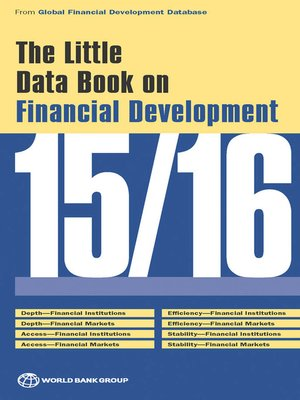 cover image of The Little Data Book on Financial Development 2015/2016