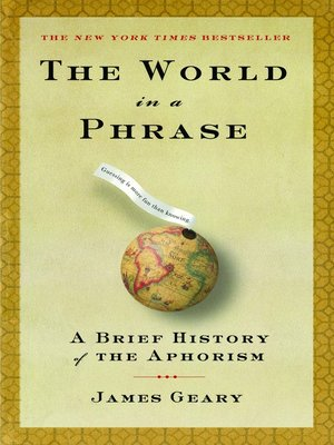 cover image of The World in a Phrase