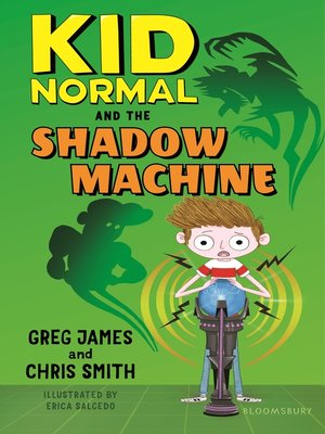 cover image of Kid Normal and the Shadow Machine