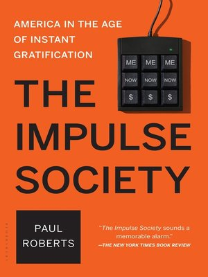 cover image of The Impulse Society
