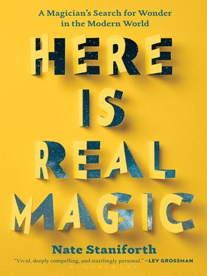cover image of Here Is Real Magic