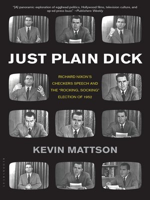cover image of Just Plain Dick