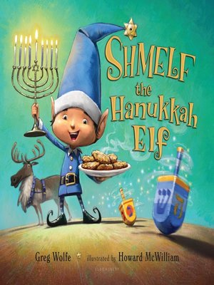 cover image of Shmelf the Hanukkah Elf