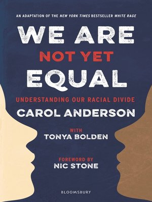 cover image of We Are Not Yet Equal
