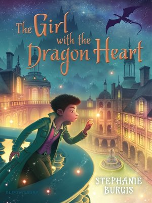 cover image of The Girl with the Dragon Heart