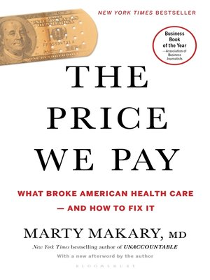 cover image of The Price We Pay