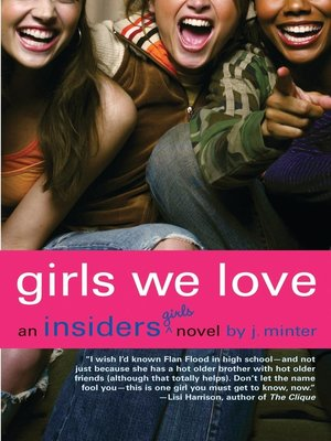 cover image of Girls We Love