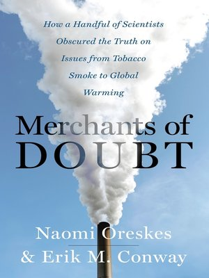 cover image of Merchants of Doubt