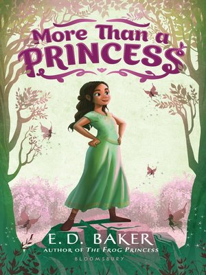 cover image of More Than a Princess