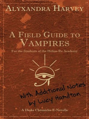 cover image of A Field Guide to Vampires