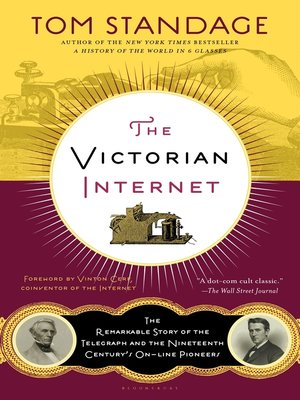cover image of The Victorian Internet