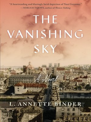 cover image of The Vanishing Sky