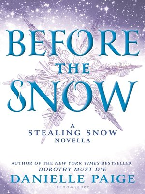 cover image of Before the Snow