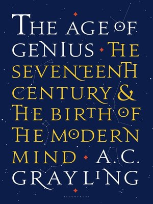 cover image of The Age of Genius