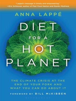 cover image of Diet for a Hot Planet