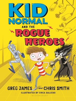 cover image of Kid Normal and the Rogue Heroes