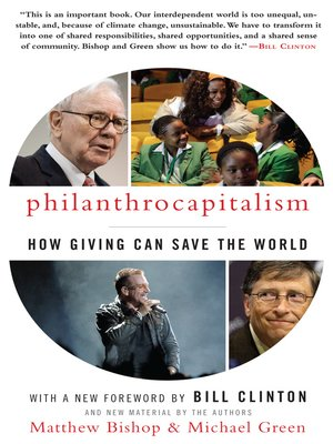 cover image of Philanthrocapitalism