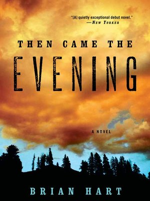 cover image of Then Came the Evening