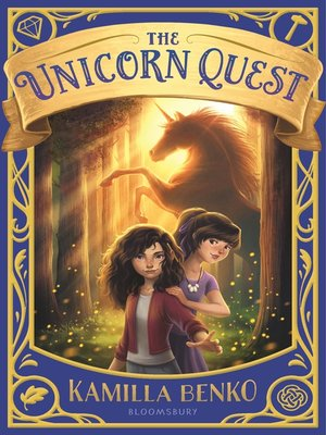 cover image of The Unicorn Quest