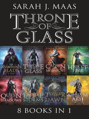 cover image of Throne of Glass eBook Bundle
