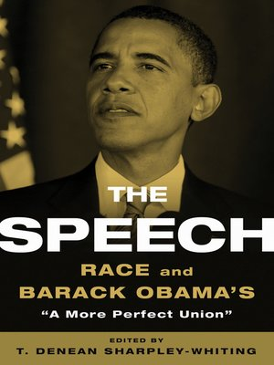 cover image of The Speech