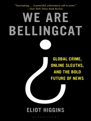 cover image of We Are Bellingcat
