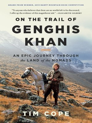 cover image of On the Trail of Genghis Khan