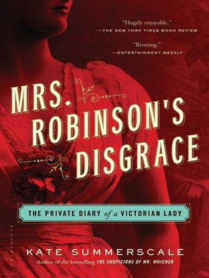 cover image of Mrs. Robinson's Disgrace