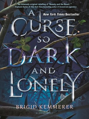 cover image of A Curse So Dark and Lonely