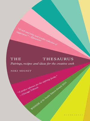 cover image of The Flavor Thesaurus