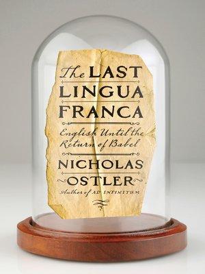 cover image of The Last Lingua Franca