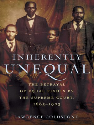cover image of Inherently Unequal
