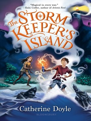 cover image of The Storm Keeper's Island