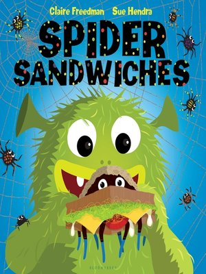 cover image of Spider Sandwiches