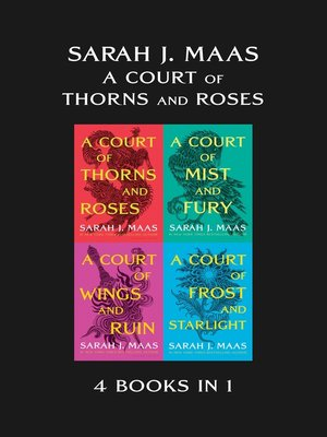 cover image of A Court of Thorns and Roses eBook Bundle
