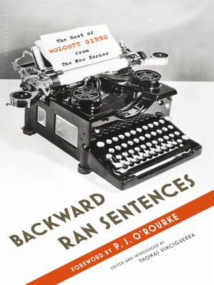 cover image of Backward Ran Sentences