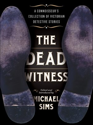 cover image of The Dead Witness