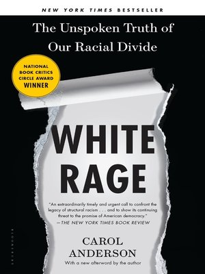 cover image of White Rage