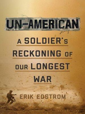 cover image of Un-American