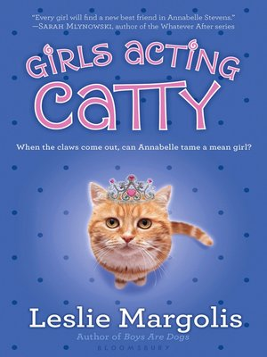 cover image of Girls Acting Catty